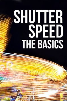 Learn why choosing the right shutter speed is important for your pictures + cool things you can do with shutter speed!