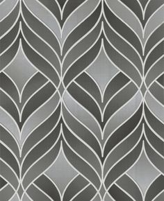 Modern Luxe Gatsby 27 X Herringbone Wallpaper Wall Coverings