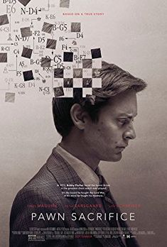 Bobby fischer movie Been named best film at the 2015 seattle international film. Tobey maguire shines as bobby fischer in pawn sacrifice. 2015 Movies, Hd Movies, Movies To Watch, Movies Online, Movie Film, Tv Watch, Movies Free, Film Trailer, Movie Trailers