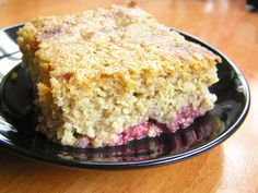 soaked grains breakfast cake