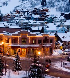 Fantastic skiing, friendly locals, a famed film festival, and elegant lodgings make Park City, UT one of America's favorite towns. Best Ski Resorts, Hotels And Resorts, Utah Ski Resorts, Great Places, Beautiful Places, Places To Visit, High West Distillery, Las Vegas, Ski Vacation