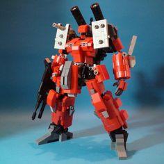 MSA-005K Guncannon Detector: Made By DIA Block [LEGO-style].