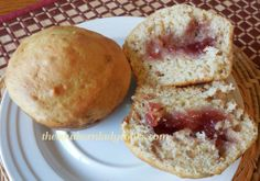 Peanut Butter and Jelly Muffins-Wonderful in school lunch boxes or as a snack with milk. Kids love these!