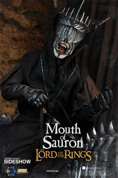 The Asmus Collectible Toys Mouth of Sauron Sixth Scale Figure is now available at Sideshow.com for fans of the Lord of the Rings.