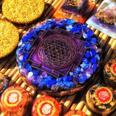 Meditate on the Sri Yantra to restore balance to your etheric body and connect to the creative power of consciousness.