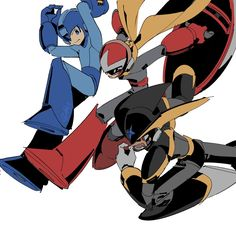 """[東5/た07b]새벽네시 on Twitter: """"RBF… """" Mega Man, Cry Anime, Anime Art, Game Character, Character Design, Doki Doki Anime, Proto Man, Fighting Robots, Art Folder"""