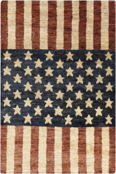 Scarborough Collection Rug From Surya Gives Nod To Patriotic Past Of Americana In Hand Knotted Hemp