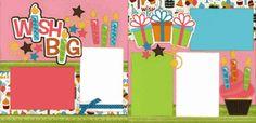 Wish Big - Girl Page Kit