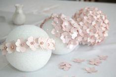 Mi Dulce de Melocoton: DIY: Bola de flores de papel