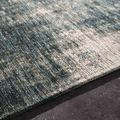 Tapis en coton bleu 155 x 230cm FEEL ...