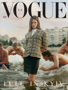 Vogue Discover Lulu in Vogue Vogue Italia September 2016 by Steven Meisel. Vogue Italia March 2017 by Steven Meisel. Vogue Ukraine September 2019 by Stuart Winecoff . Vogue Magazine Covers, Fashion Magazine Cover, Fashion Cover, Magazine Photos, Vogue Vintage, Vintage Vogue Covers, Vintage Black, Steven Meisel, Vogue Photography