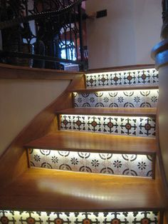 Claremont Drive eclectic-staircase