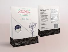 Just Rice - Product Packaging