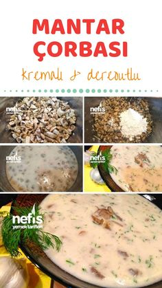 Köstliche Pilzsuppe mit sahnigem Knoblauch-Dill – köstliche Rezepte Delicious mushroom soup with creamy garlic dill – delicious recipes, soup Soup Appetizers, Appetizer Recipes, Healthy Eating Tips, Healthy Nutrition, Mushroom Soup Recipes, Paleo Soup, Paleo Recipes, Delicious Recipes, How To Cook Pasta