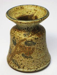 "Studio Art Pottery Matte Glaze Weed Pot Vase Mid Century Danish Modern ""Diana"" | eBay"