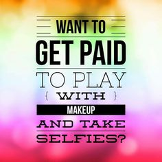 Are you ready to work from home? Do you love makeup? Most Younique gals make in the thousands/monthly- usually more. Join my team and I will train you! It is the fastest growing direct sales company in the world! Jamberry Party, Jamberry Meme, Jamberry Nails, Join Younique, Mascara Younique, Younique Presenter, Taking Selfies, Color Street Nails, Free Makeup