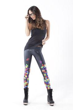 Retro Gamer Leggings › Black Milk Clothing