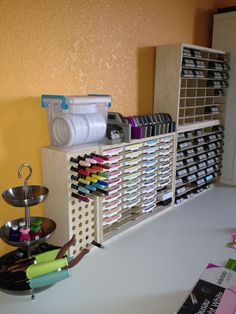 April B - Studio Showcase Winner - Marker, Ink Pad and Paper Punch Storage