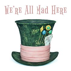 Mad Hatter's Hat Topper / Cake Tutorial - FREE step-by-step Fondant Cake Tutorial, Cake Topper Tutorial, Cake Toppers, Crazy Hat Day, Crazy Hats, Alice And Wonderland Quotes, Wonderland Party, Mad Tea Parties, Tea Party
