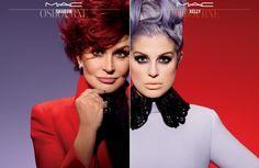 Love Kelly's makeup! Sharon and Kelly Osbourne for MAC - Fashion and Beauty NZ