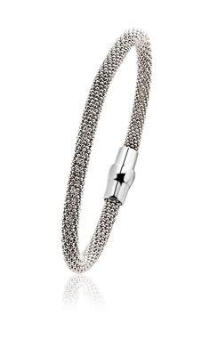Zinzi zilveren strakke armband 60mm diameter ZIA681
