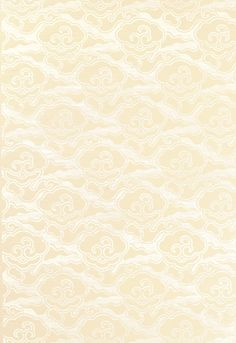 soon to be in my master bedroom. Celerie  Kemble for F. Schumacher (Cirrus Clouds in color Blanched)