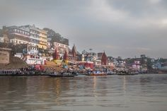 Sunrise Boat Ride in Varanasi Photography by Nick Laborde