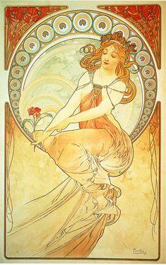 Alphonse Mucha - Painting