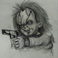 Chucky Tattoo Horror Movies Kids Playing Skulls Art Ideas