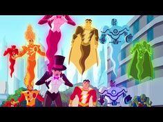 Justice League Action in Italiano Justice League, Batman, Teen Titans Go, Hanna Barbera, Image Comics, Cartoons, Cinema, Star Wars, Action