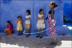 Play Children - Street Photography and The Art of Composition
