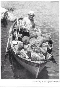 ✿ ❤ Bir Zamanlar İSTANBUL, Salacak'lı balıkçı Ali, nam-ı diğer Horoz Ali 1964) #istanlook