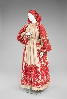 Eastern European ensemble via The Costume Institute of the Metropolitan Museum of Art