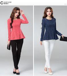 2014 Autumn Fashion Collection top 2336 - Shirts, tops - korean japan fashion clothes dresses wholesale women
