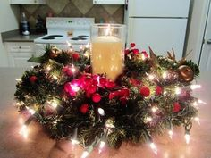 DIY Christmas/Holiday Centerpiece - YouTube