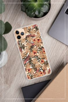 Orange Floral – iPhone Hülle – The Lovely Things Orange, Lovely Things, Phone Cases, Iphone Case Covers, Phone Case