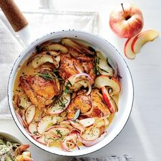 Skillet Apple Chicke