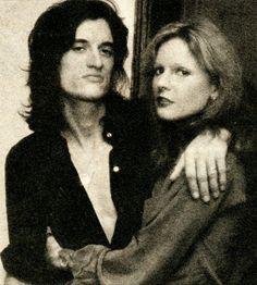 Joe Perry & his first wife Elyssa Jerret