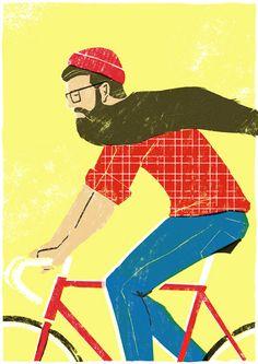 Peak Beard - Jamie Wignall, London based illustrator