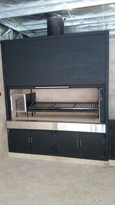 If you have the space in your yard, check out the outdoor kitchen ideas total with bars, seating areas, storage space, as well as grills. Interior Design Trends, Modern Restaurant Design, Kitchen Remodel Small, Outdoor Kitchen, Living Room Interior, Interior, Cool Kitchens, Trending Decor, Outdoor Cooking