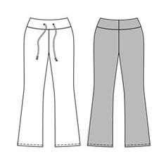 Free Yoga Pants Pattern/Tutorial -so my husband can make some for me! :) Free Sewing, Sewing Patterns Free, Sewing Tutorials, Sewing Projects, Couture Sewing, Diy Couture, Sewing Pants, Sewing Clothes, Yoga Pants Pattern
