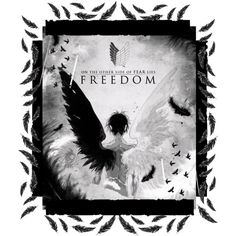 'Wings of Freedom' by j4wahir on Polyvore featuring art