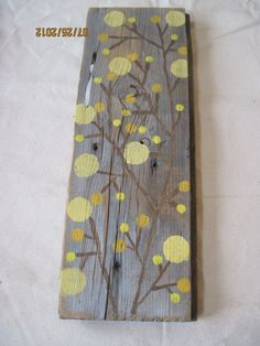 Dot Tree Boards Wall Decor Sign on Old Barn by ThreeTwigsDesigns, $19.00