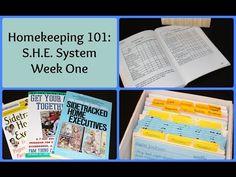 Homekeeping 101: S.H.E. System Week One - YouTube