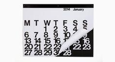 · rikiki. grafik & produkt · | The Stendig Calendar 2014