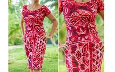 The Best Pacific and Samoa Shopping - Carvings, Crafts, Homeware and Gifts New Dress Pattern, Dress Patterns, Sewing Patterns, Samoan Dress, Samoan Designs, Island Wear, Island Outfit, Island Life, Tropical Dress