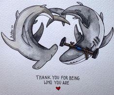 Marvelous Drawing Animals In The Zoo Ideas. Inconceivable Drawing Animals In The Zoo Ideas. Animal Drawings, Cute Drawings, Shark Art, Shark Tattoos, Cute Shark, Cute Puns, In The Zoo, Illustration, Shark Week