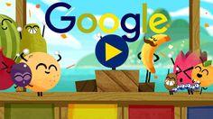 17º Dia dos Jogos Doodle Fruit 2016! Saiba mais em g.co/fruit