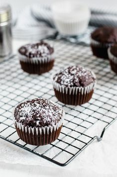 Chocolate zucchini muffins: because vegetables are best when they taste like warm, melty chocolate.