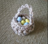 Mini Basket - Tutorial - ♡ Teresa Restegui http://www.pinterest.com/teretegui/ ♡